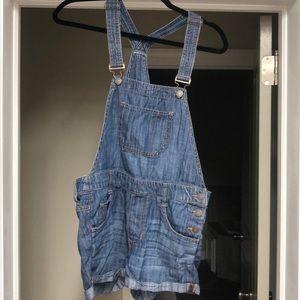Soft Short Overalls
